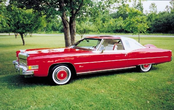 1974 CADILLAC ELDORADO ELDEORA  16408  Cadillac Eldorado