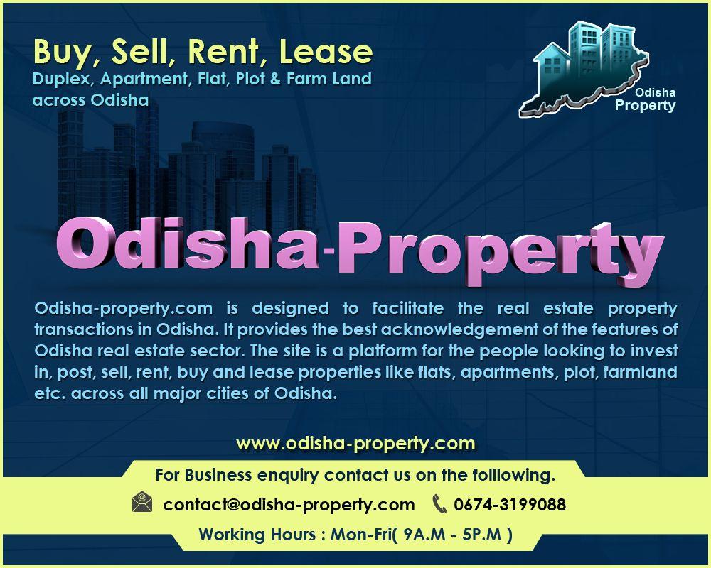Odisha Property No 1 Property Listing Portal In Odisha Property Listing Real Estate Property