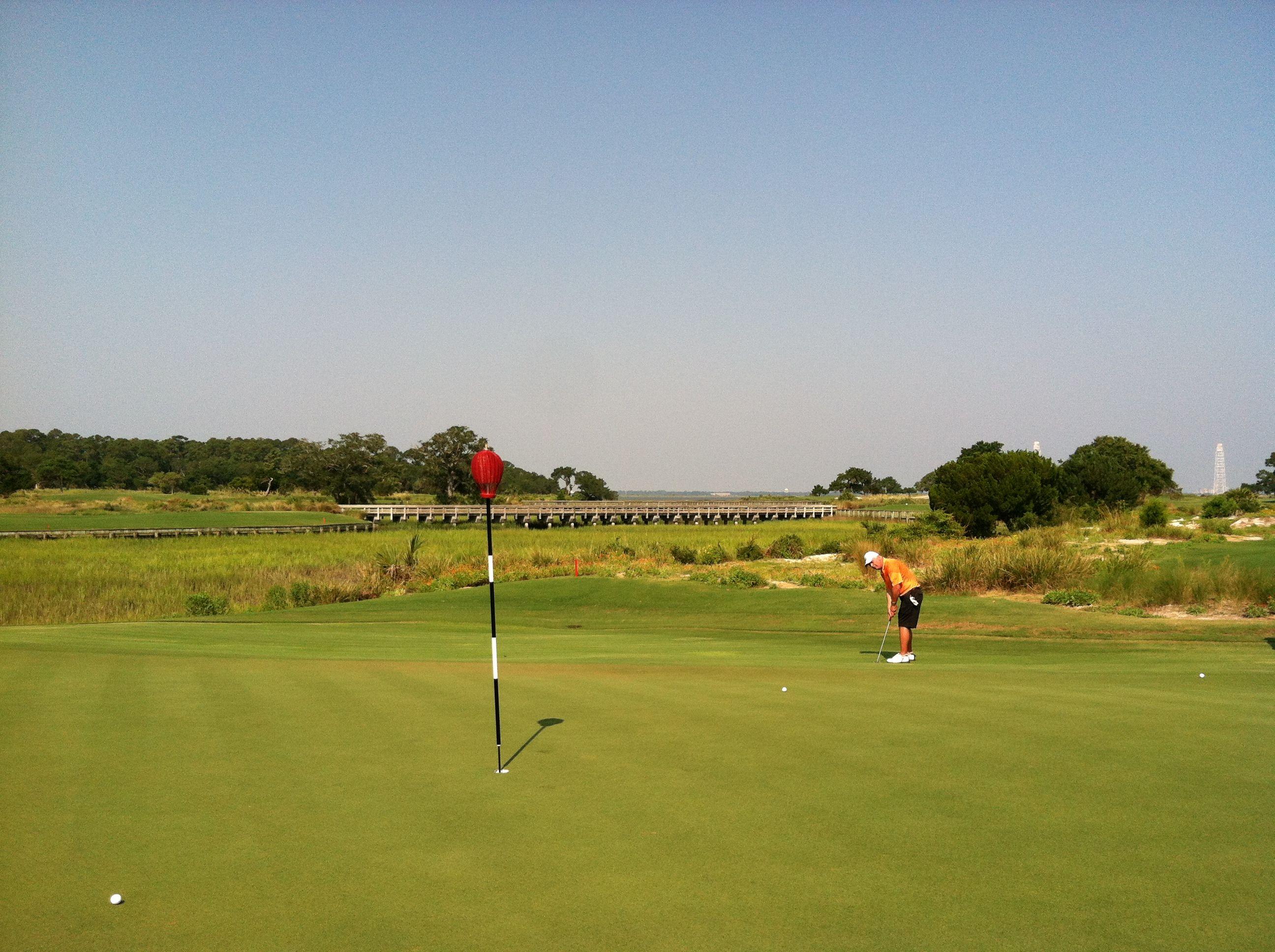 The beautiful Seaside Course at Sea Island Golf Club ...