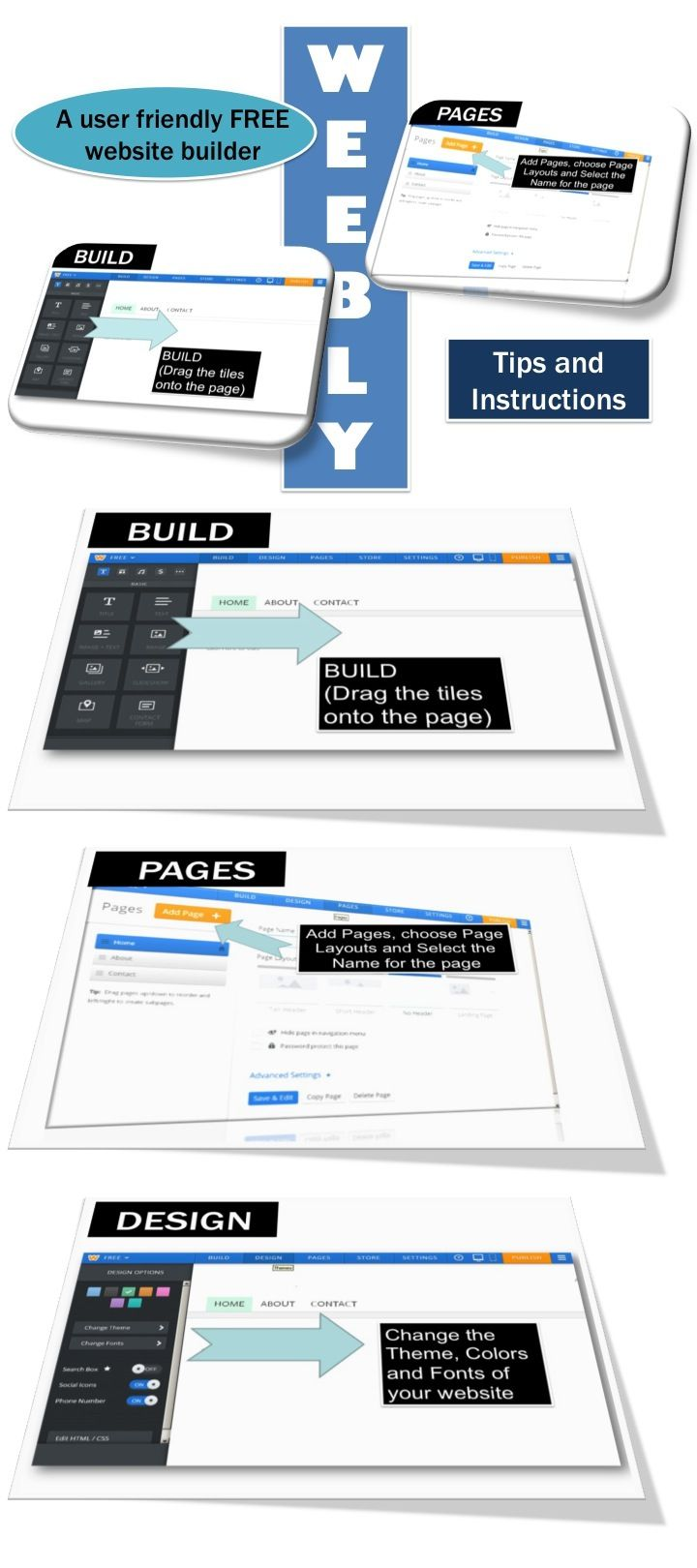 where can i build a free website