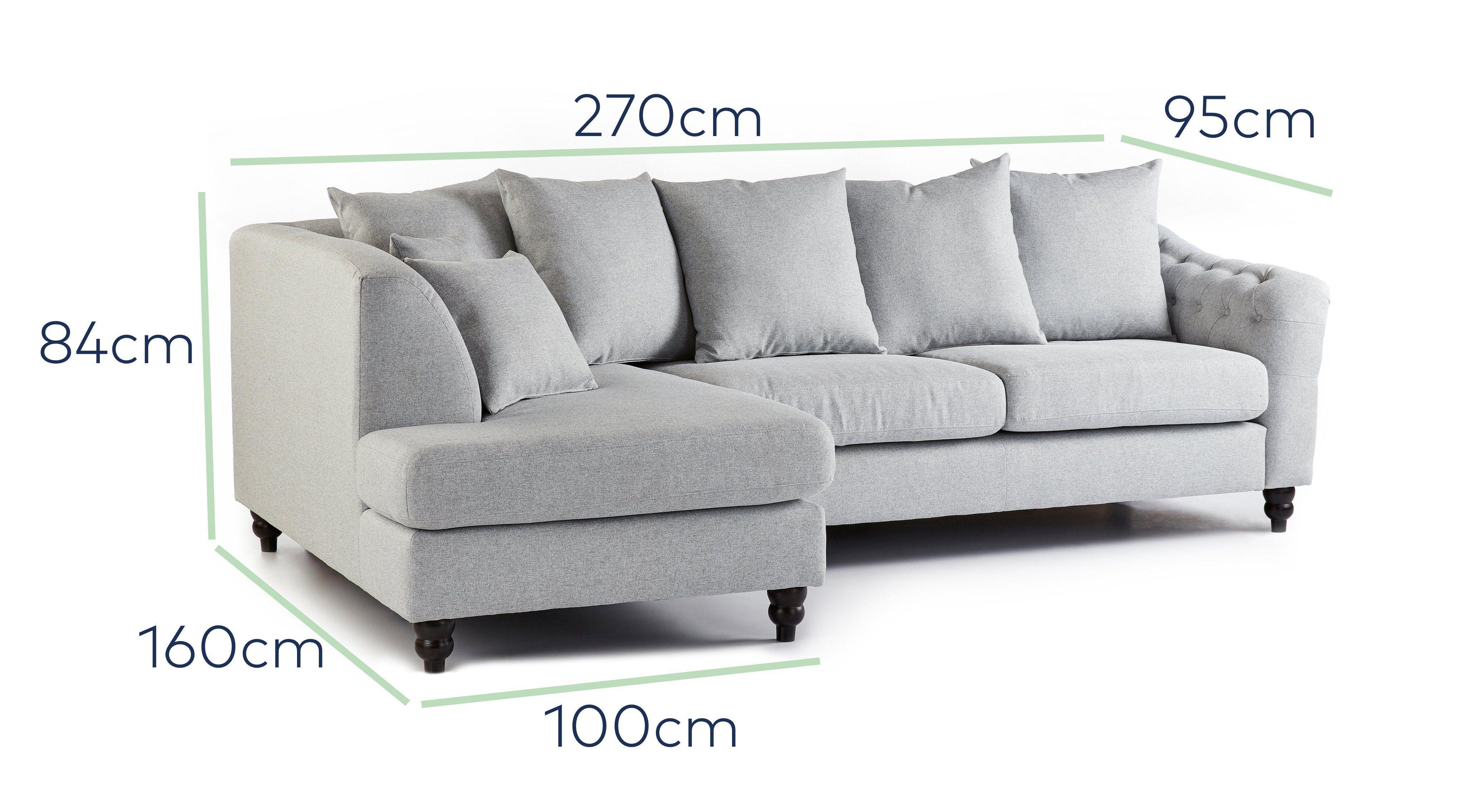 Chigwell Corner Crushed Velvet Sofa Corner Sofa Living Room Corner Sofa