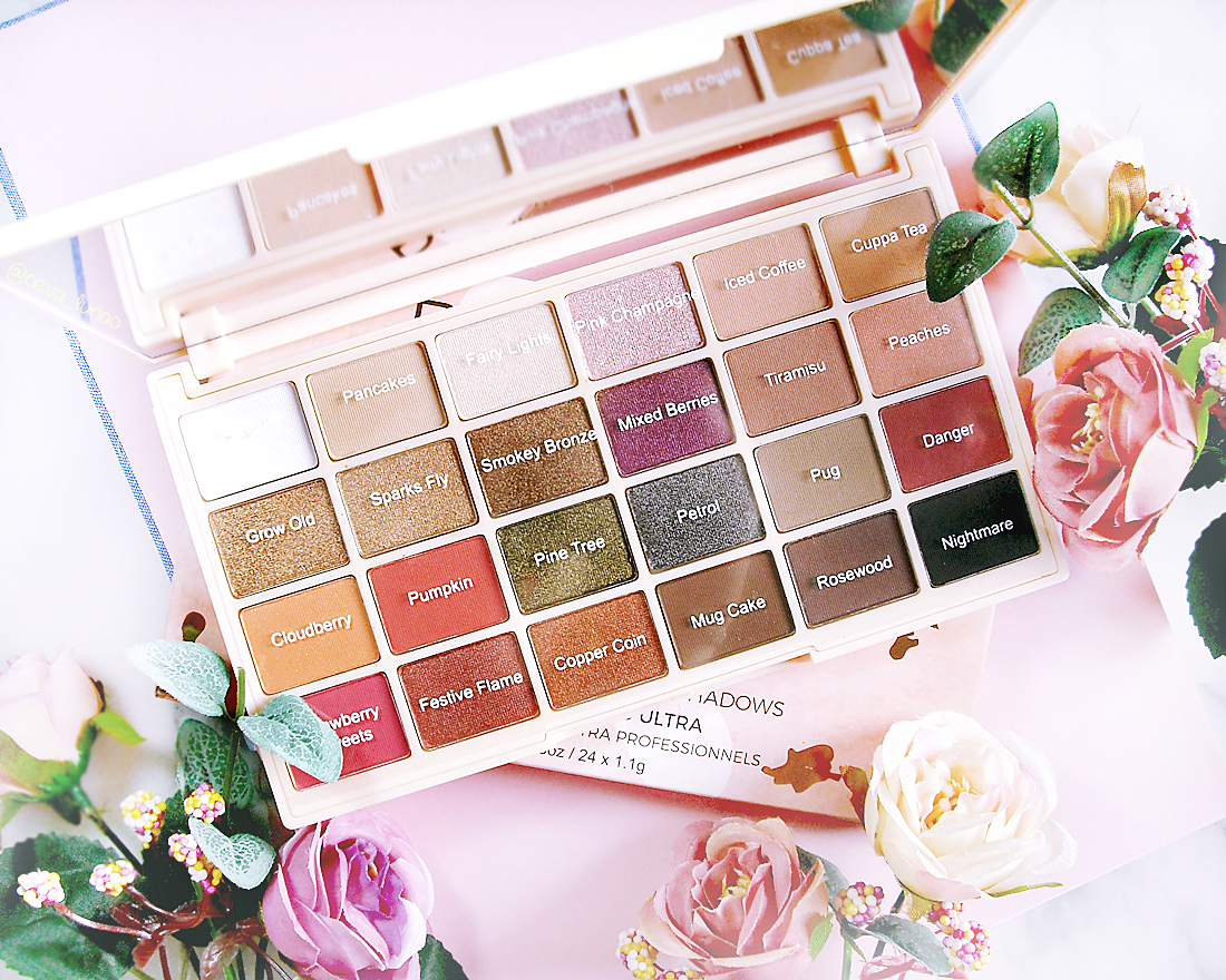 Makeup Revolution Soph eyeshadow palette makeup look