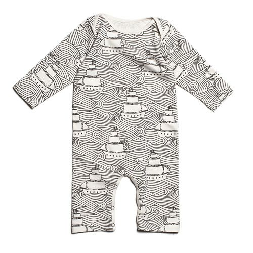 winter water factory high seas romper