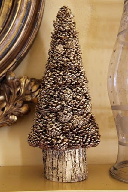 15 Tannenzapfen Weihnachten Bäume Und Wege Schmücken | Diyundhaus.com #kreativjulepynt