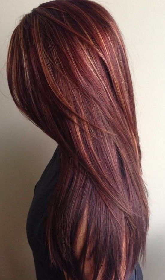 10 Best Spring Hair Color For Brunettes Red Chocolate Brown In 2020 Hair Color Mahogany Fall Hair Color For Brunettes Brunette Hair Color