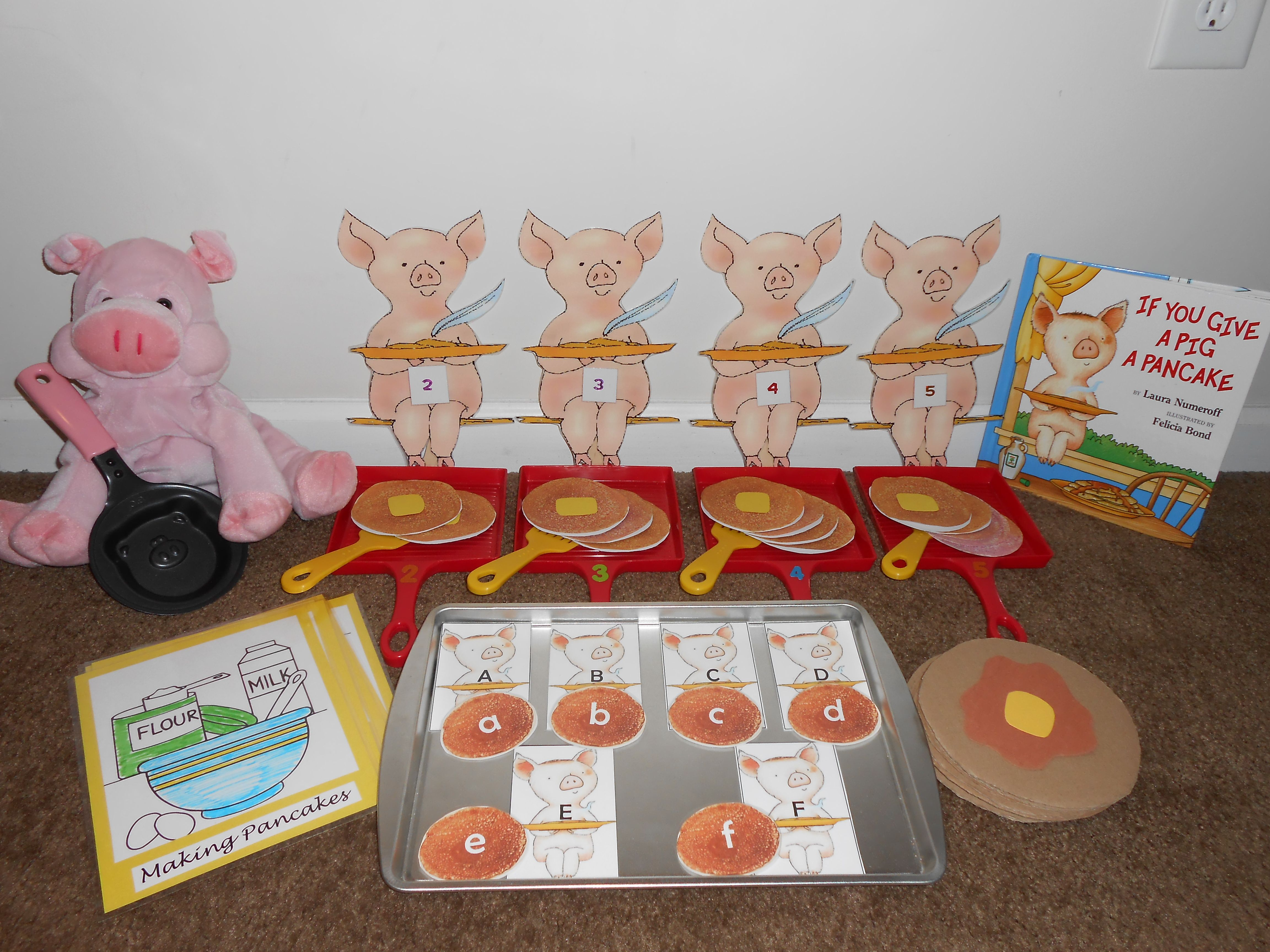 If You Give A Pig A Pancake Literacy Pack