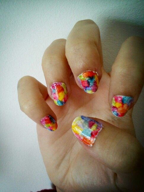 Colorful nails for this summer!