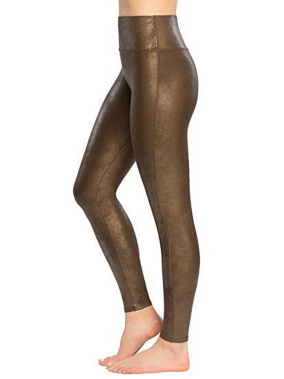 86923ec92b0e SPANX Women s Faux Leather Leggings at Amazon Women s Clothing store ...