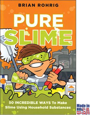 50 Incredible Ways to Make Slime Using Household Substances. Step-by-step instructions and the science behind the slime are included with each experiment -- suitable grades K-12.