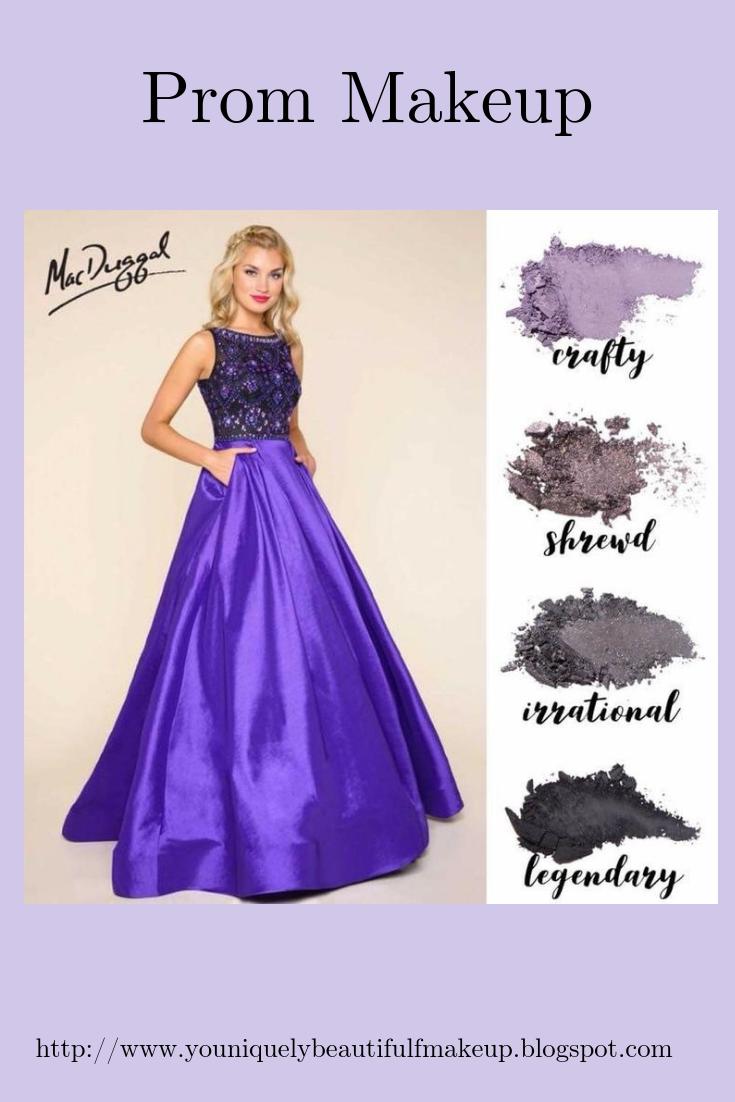 Youniquely Beautiful Makeup Tips And More Purple Dress Dress Makeup Prom Makeup [ 1102 x 735 Pixel ]