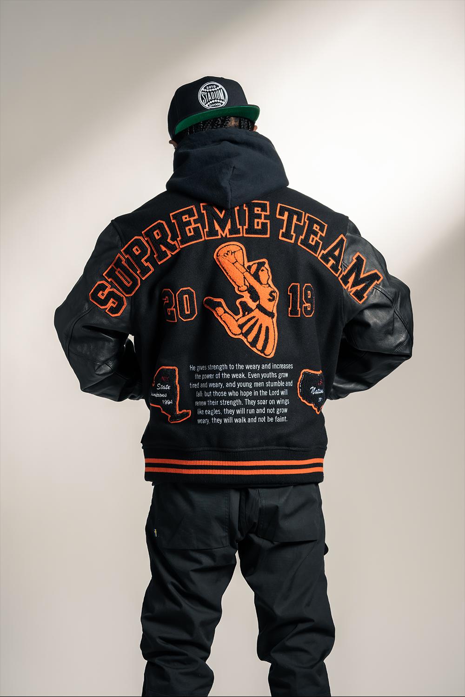 "Supreme Team Varsity Jacket ""FW 19"" SU8141 in 2020"