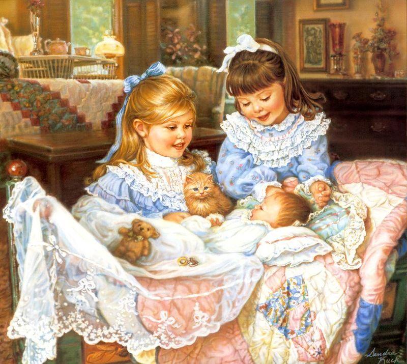 Открытки 3 сестры, днем друзей прикольные