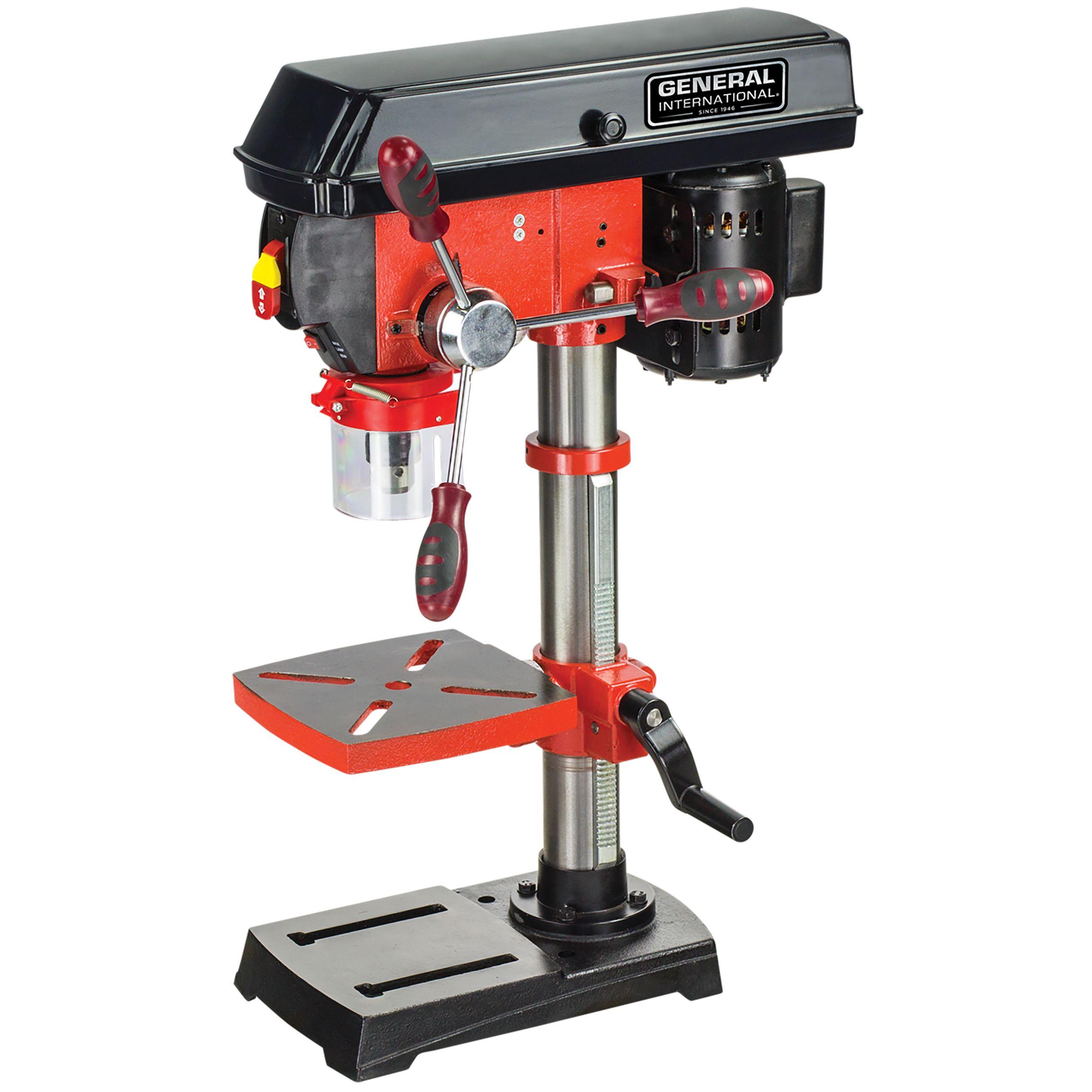 Enjoyable General International 10 Inch 5 Speed Drill Press With Ibusinesslaw Wood Chair Design Ideas Ibusinesslaworg
