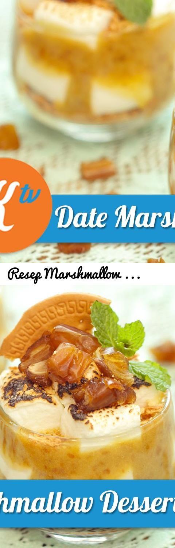 Resep Marshmallow Kurma Dessert Mega Lestary Tags Resep Masakan Kokiku Tv Cara Membuat Memasa Marshmallow Desserts How To Make Marshmallows Cooking