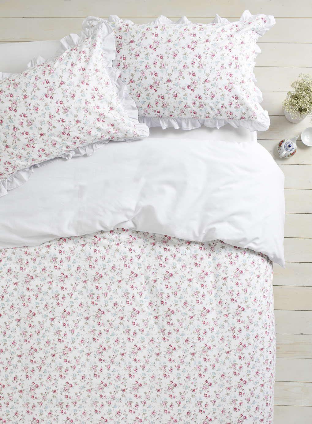 Esther Pink Ditsy Bedding Set Bhs Duvet Cover