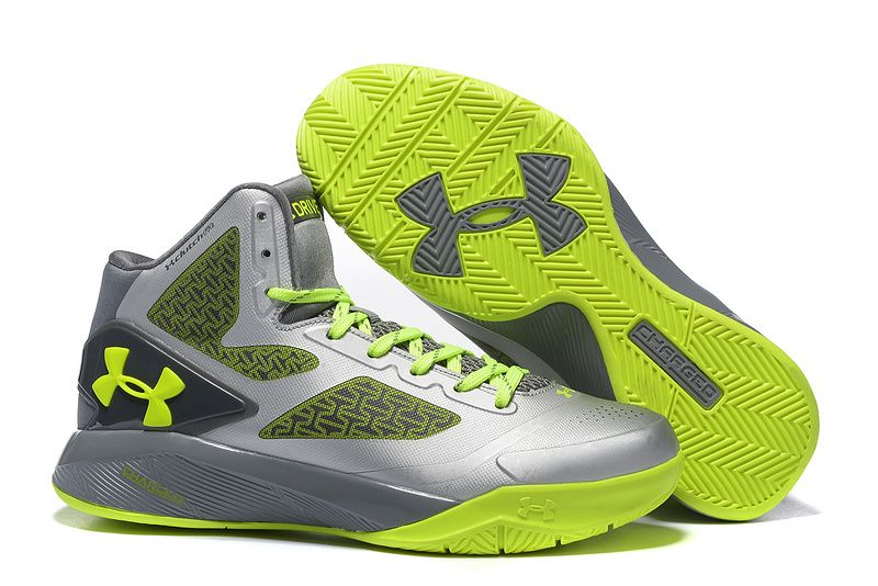 new arrival 49b01 fb381 Under Armour Micro G™ PRO Clutchfit Drive 2 Basketball Shoes Silver Green : Under  Armour Speedform Running Shoes, New Curry II Basketball Shoes Cheap Sale,  ...