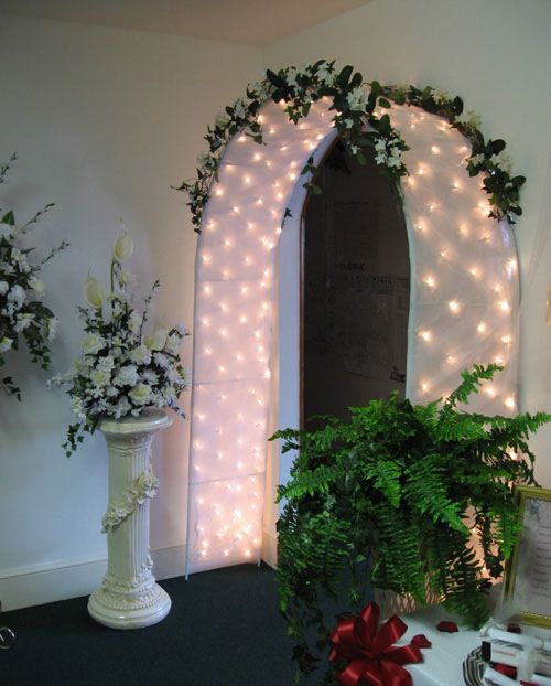 Wedding Arch Decorated With Tulle: One Day I Will Have A Wedding