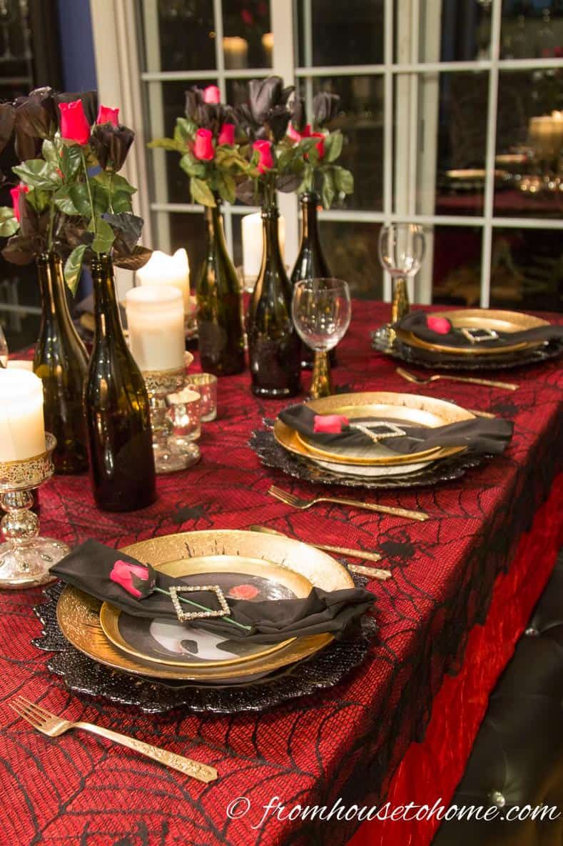 10 Phantom Of The Opera Party Ideas That Will Wow Your Guests Entertaining Diva From House To Home Phantom Of The Opera Party Decorations Masquerade Party