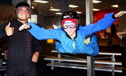$49 for Indoor Skydiving, Surfing, and Rock Climbing ($89 Value)
