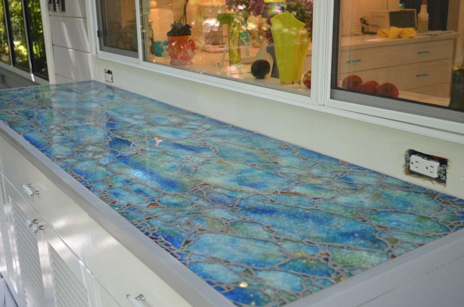 Mosaic Countertop Google Search Mosaic Glass Glass Mosaic Art