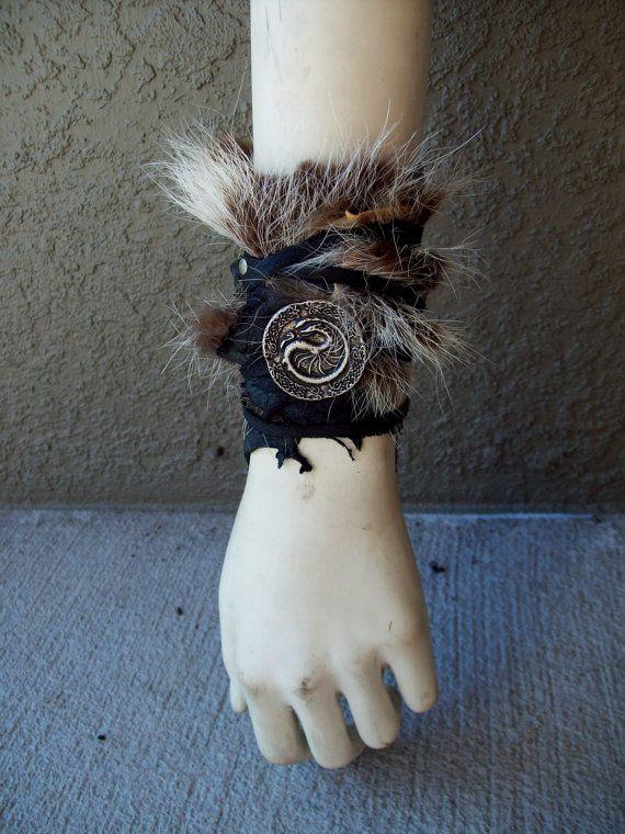 Viking Huntress Cuff -- tribal fusion belly dance amazon