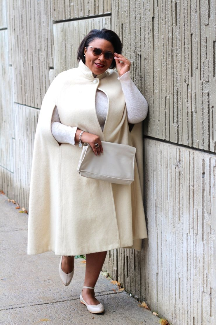 Winter White - Fat in the city | fashion | style | Pinterest ...
