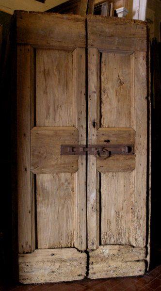 Porte da interno rustiche simone marro porte e portoni for Porte interne antiche