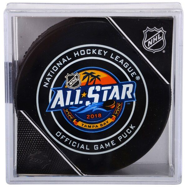 Fanatics Authentic 2018 NHL All-Star Game Unsigned Official Game Puck