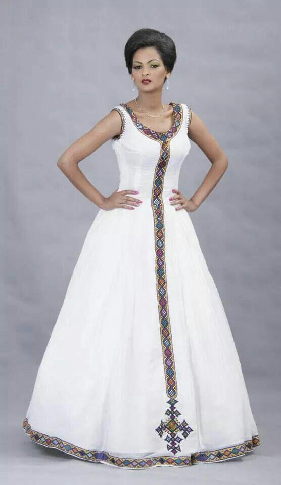 Beautiful Ethiopian Dress I love it … | Pinteres…