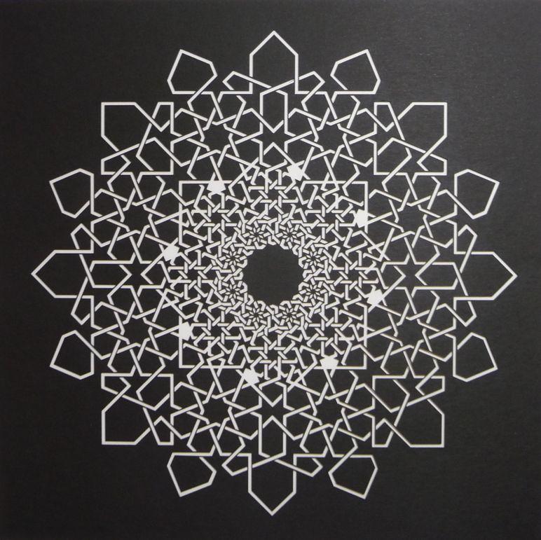 Islamic Fractal Star Interlaced Version Phil Webster Design Fractal Patterns Islamic Art Pattern Geometry Pattern