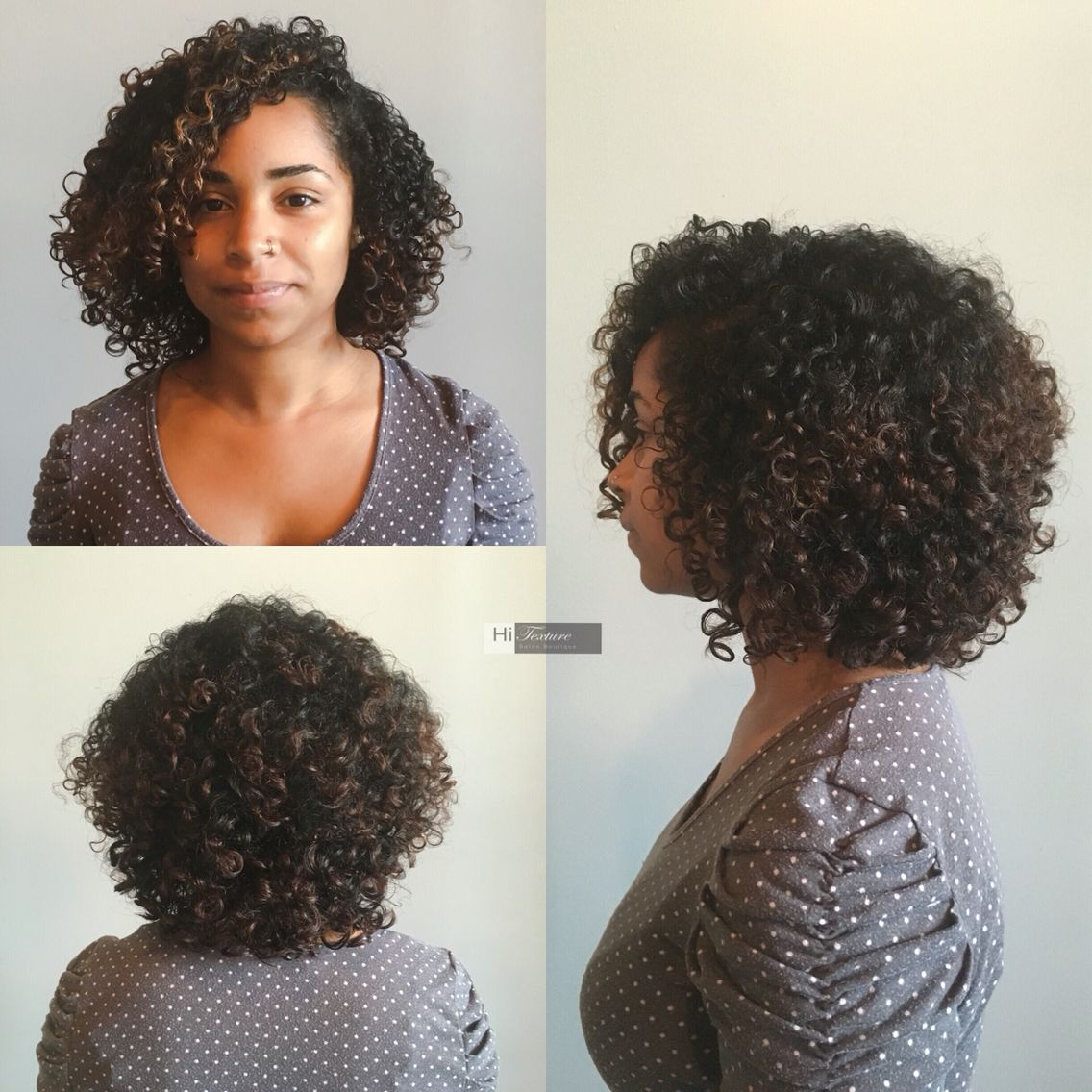 curly cut and fingerstyle stylist