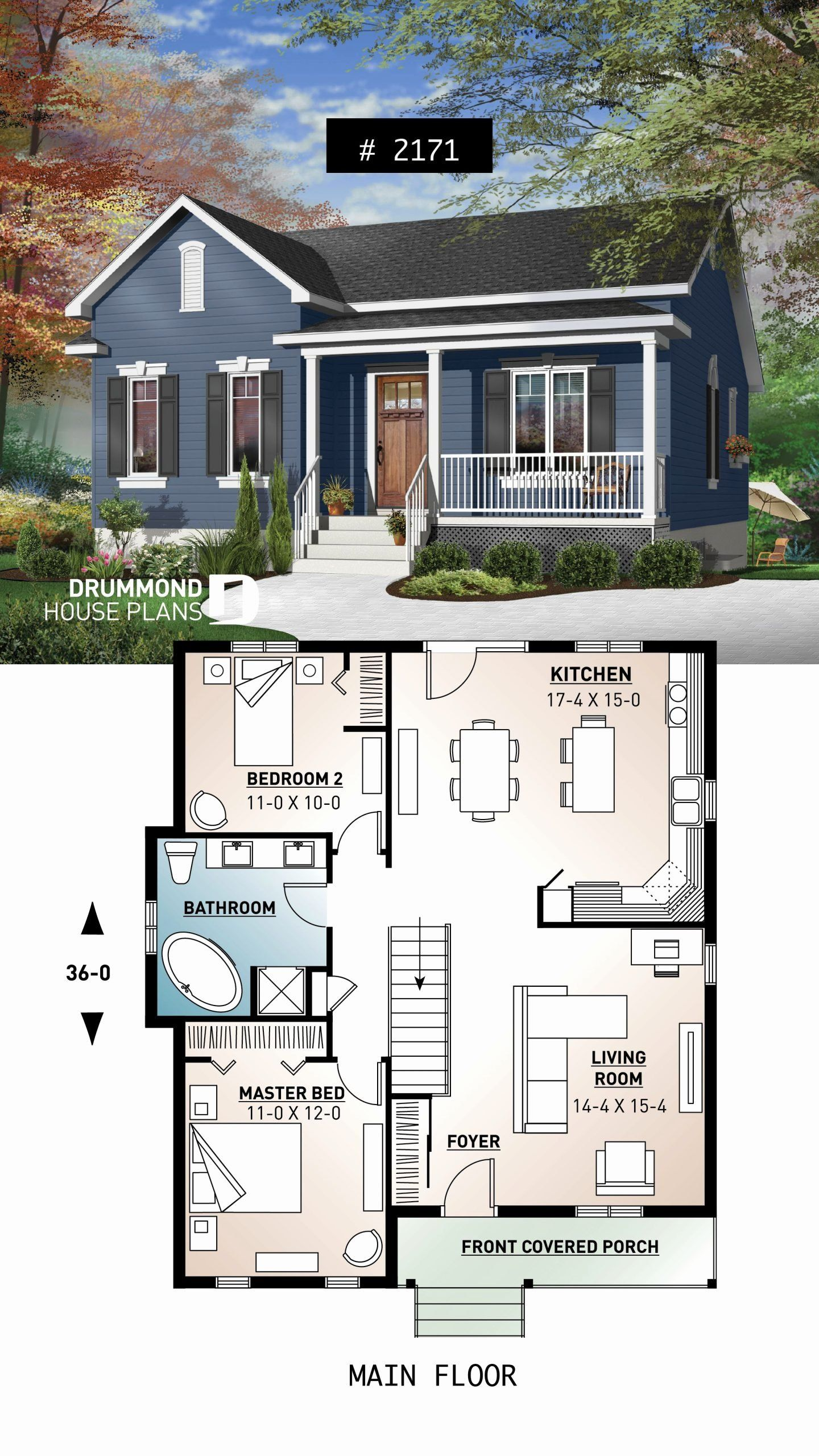 Tiny Ranch House Plans Awesome E Story Economical Home With Open Floor Plan Kitchen With In 2020 House Plans Farmhouse Small House Floor Plans Cottage House Plans