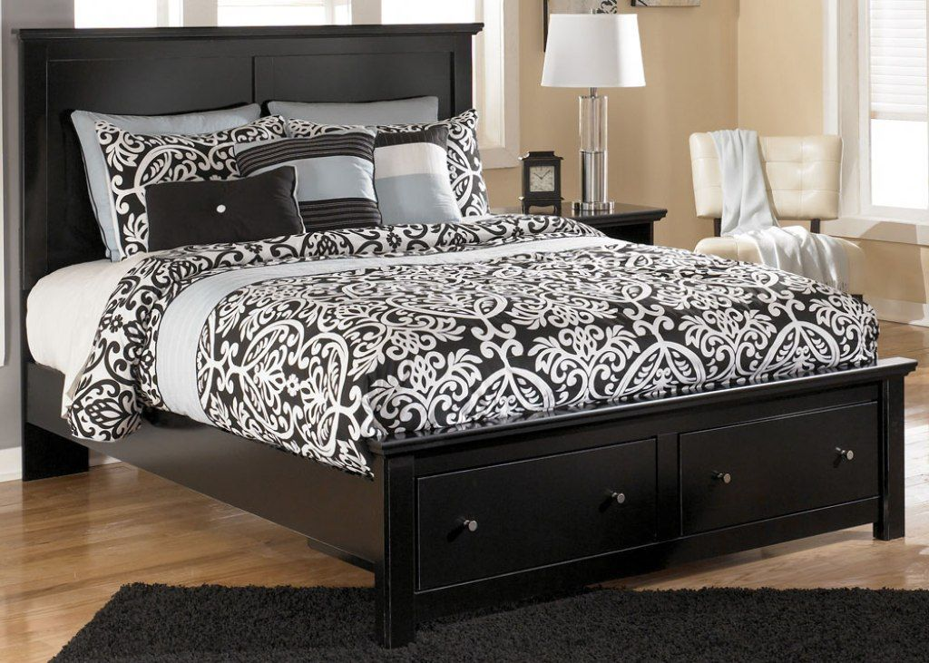 Top bed frame with drawers Bed frame with storage, Queen