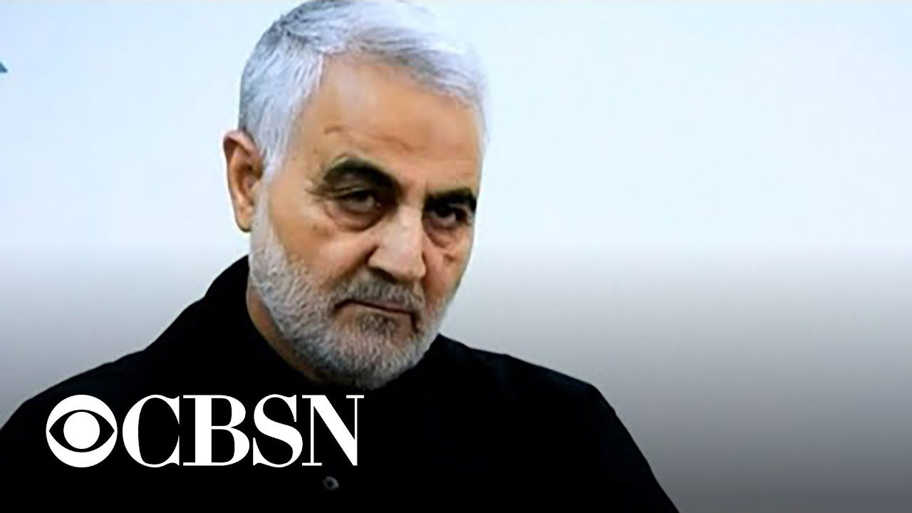Qassem Soleimani Head Of Iran S Elite Military Force Dead In Baghdad A In 2020 Cbs News Baghdad Military Forces