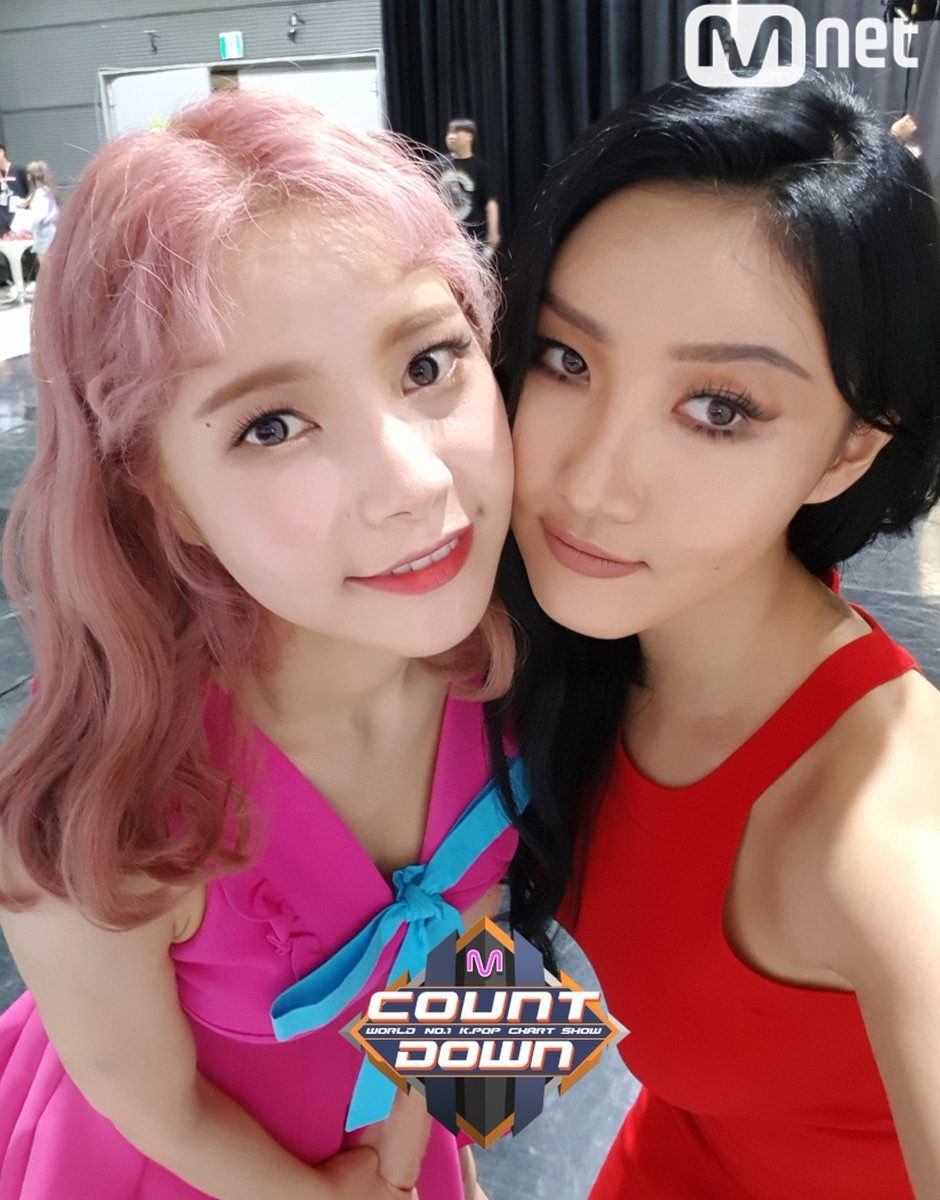 M Countdown Backstage Mamamoo Kpop Girls Hwasa