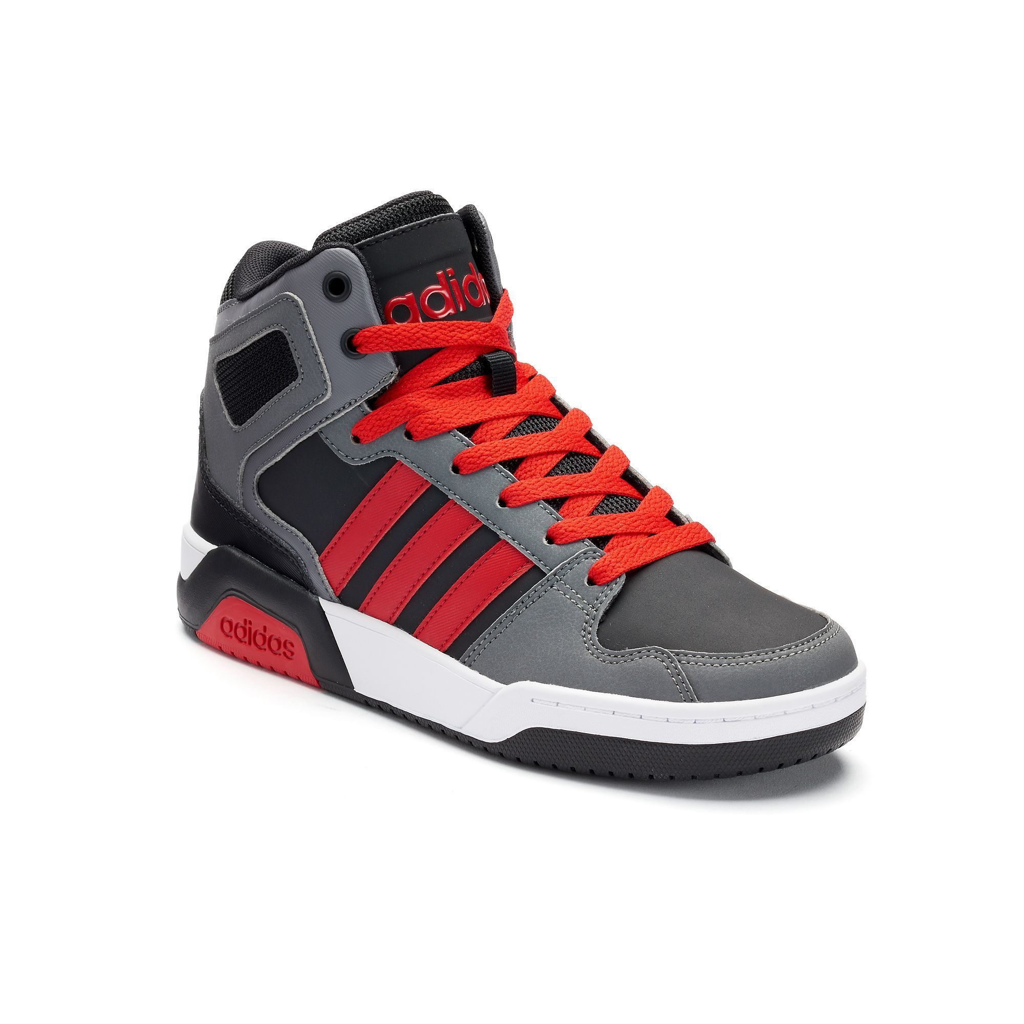 Mens adidas NEO BB9TIS Mid Basketball Shoe FREE Shipping
