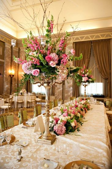 Reception Flowers | Wedding Reception Floral Arrangements | Table ...
