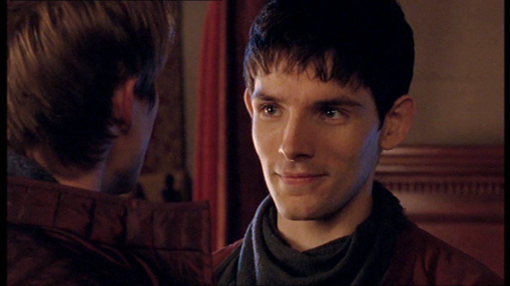 Merlin being cheeky. :3