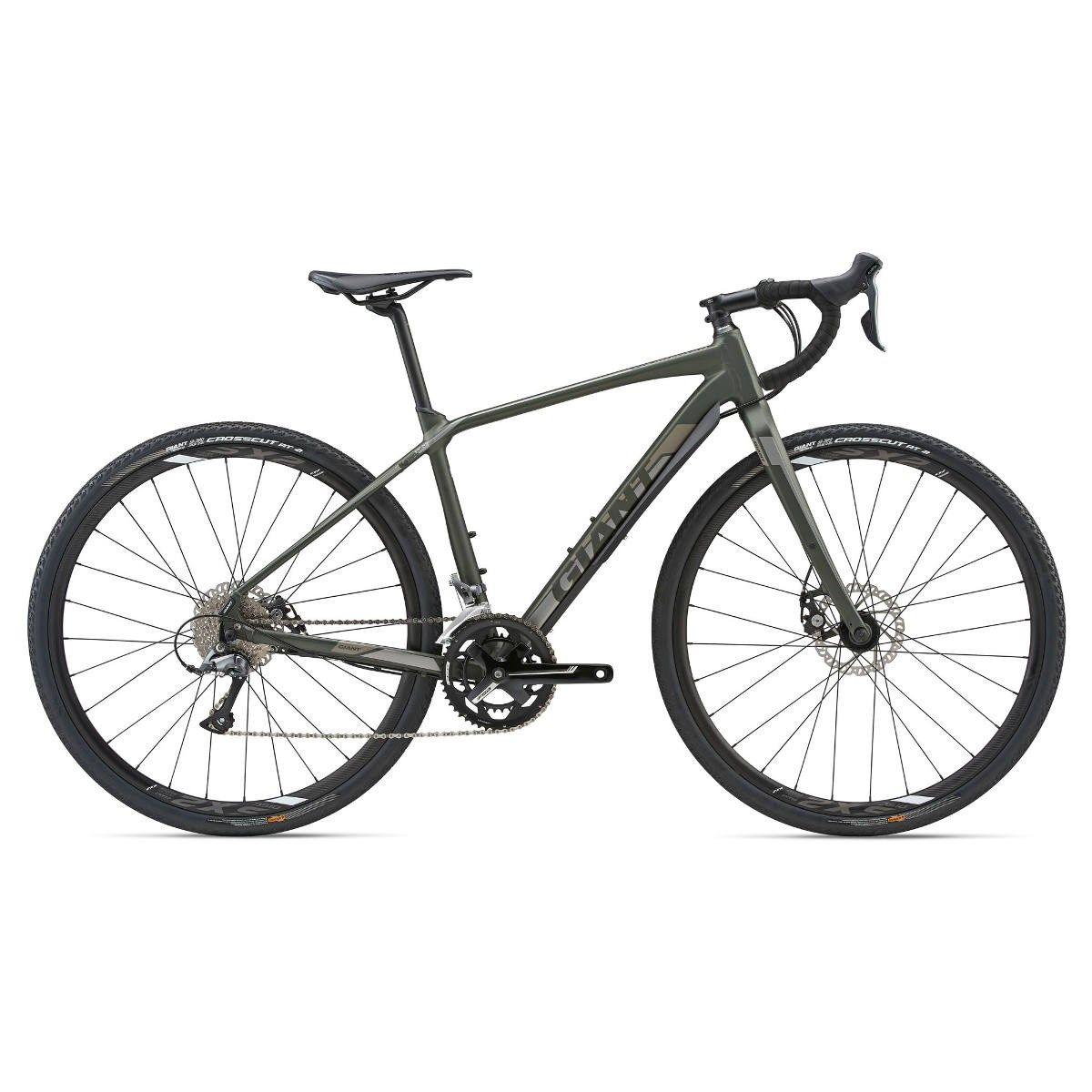 Giant Toughroad Slr Gx 3 2018 Gravel Road Bike Green Bicycle