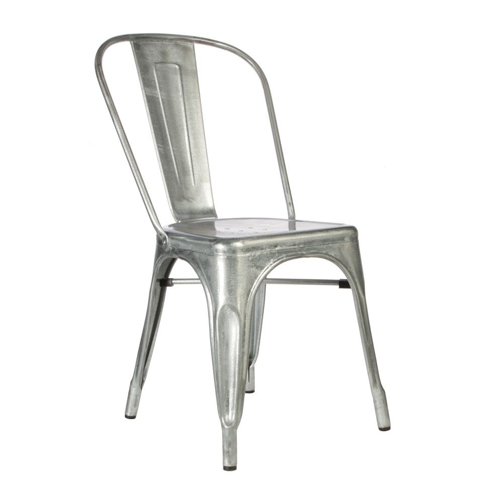 Replica Xavier Pauchard Tolix Chair Hot Dip Galvanised Matt Blatt Tolix Chair Hot Dip Outdoor Chairs