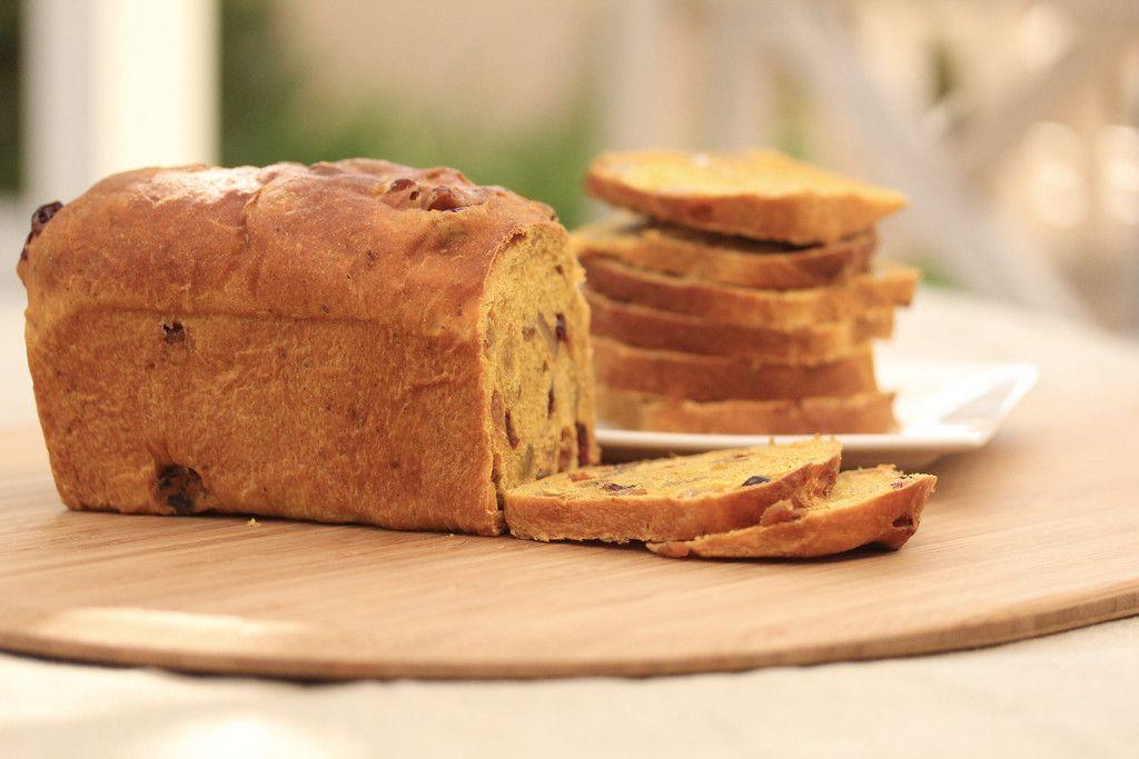 Cranberry walnut pumpkin loaf pumpkin loaf baking with