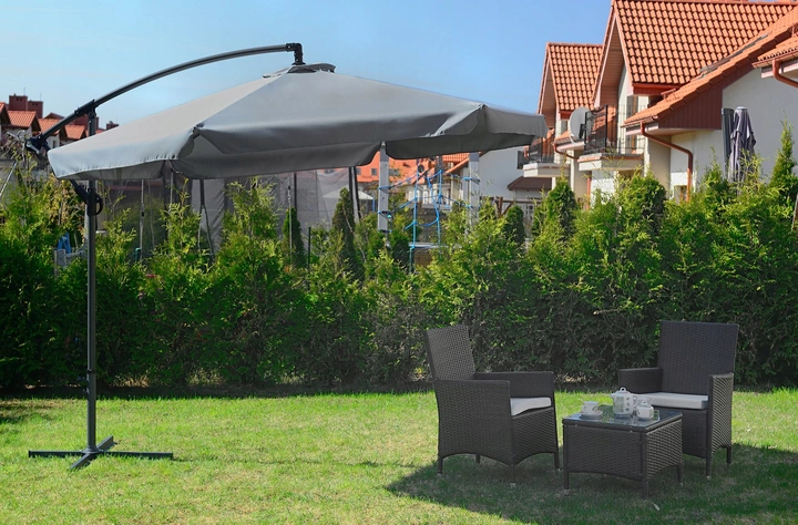 Parasol Ogrodowy Duzy 350cm Skladany Na Wysiegniku 7917702392 Allegro Pl Outdoor Decor Patio Patio Umbrella