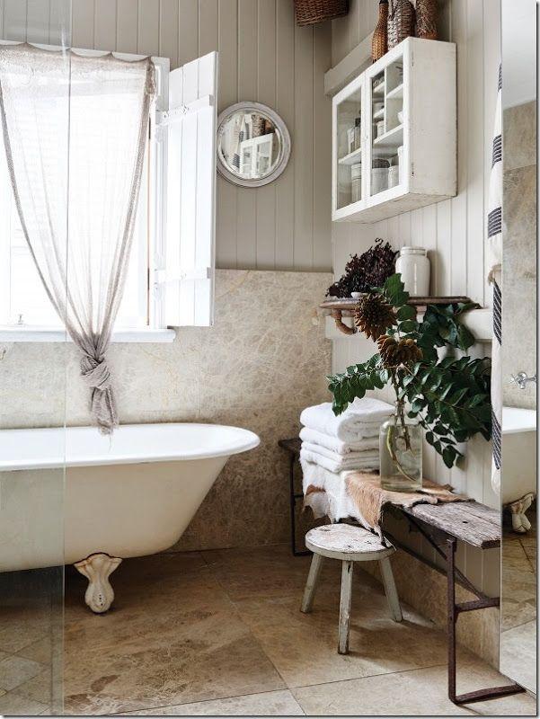 shabby-chic-casa-idee-9 | bathroom | Pinterest | Shabby chic, Shabby ...