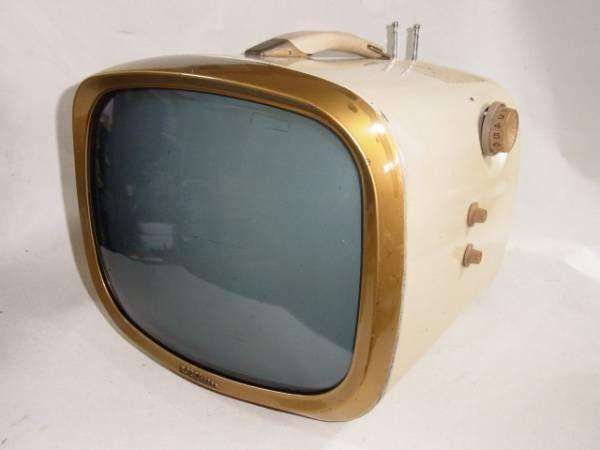 RCA, The Envoy 1959年製、真空管式白黒テレビ(レストア済)_画像1