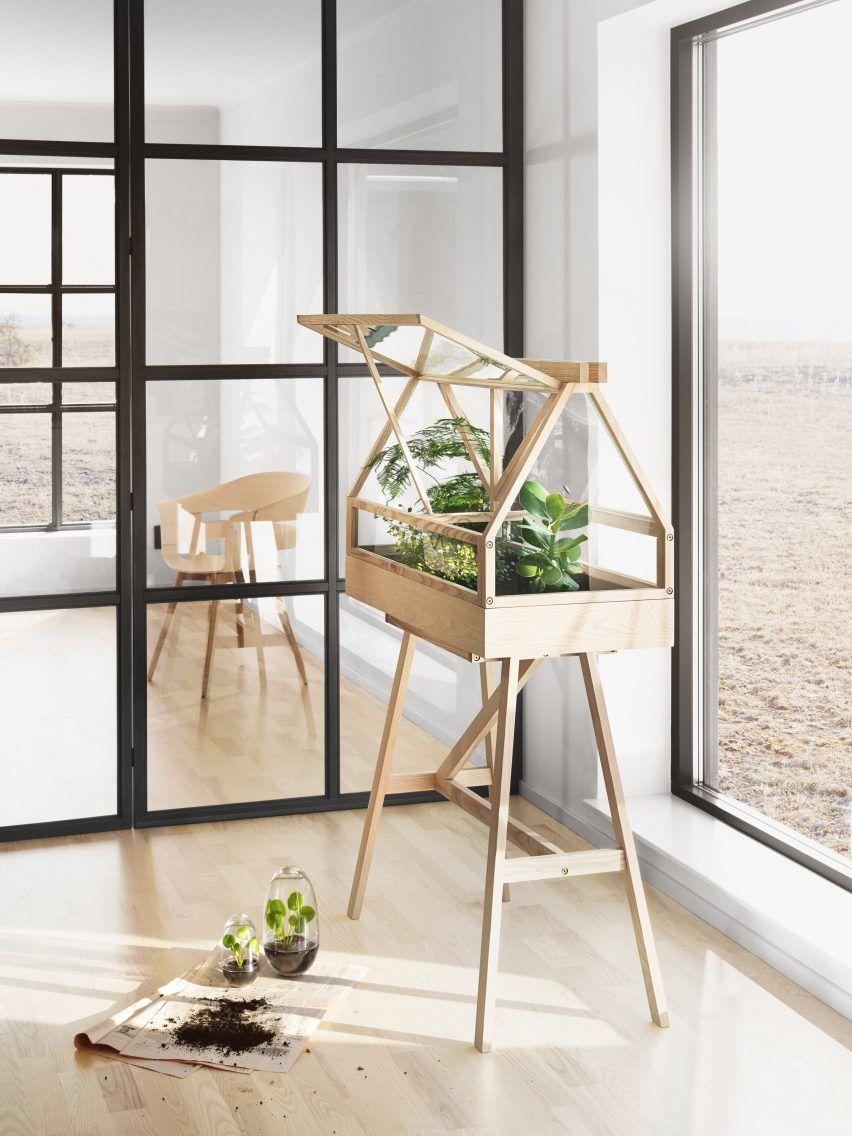 Atelier 2+ designs miniature greenhouse for indoor gardeners ...