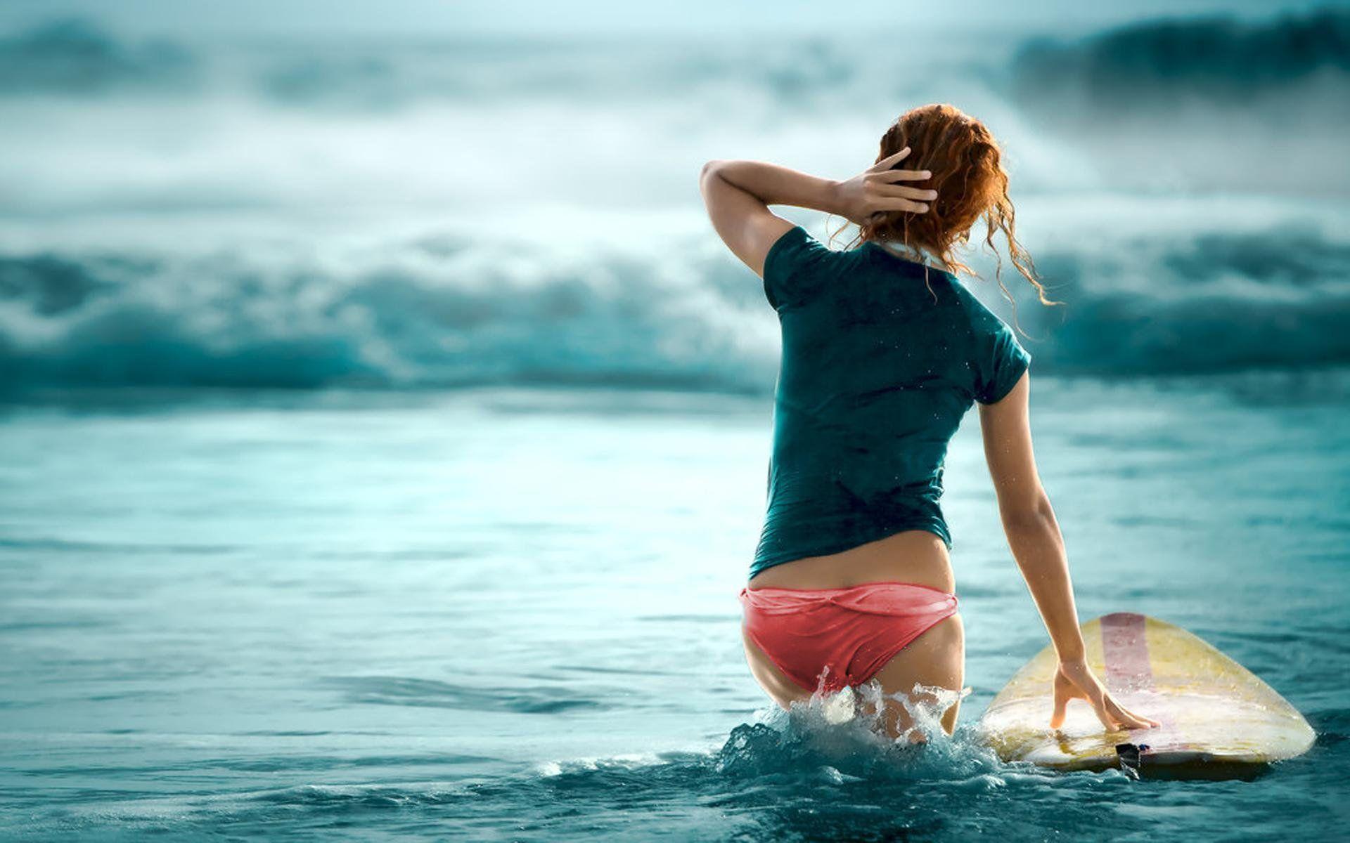 chick surfer girl wallpaper   blue crush   pinterest   surf, surfers