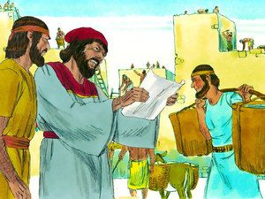 Free Visuals Nehemiah Rebuilding The Walls Of Jerusalem
