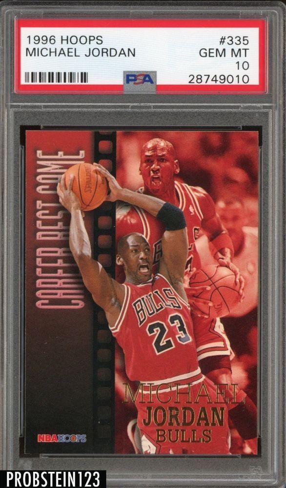 199697 NBA Hoops Career Best Game 335 Michael Jordan