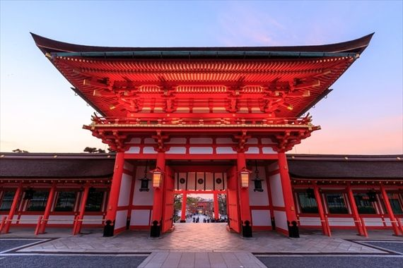 意外な場所がランクイン 外国人が選んだ 日本観光地ランキングtop30 観光地 伏見稲荷神社 日本