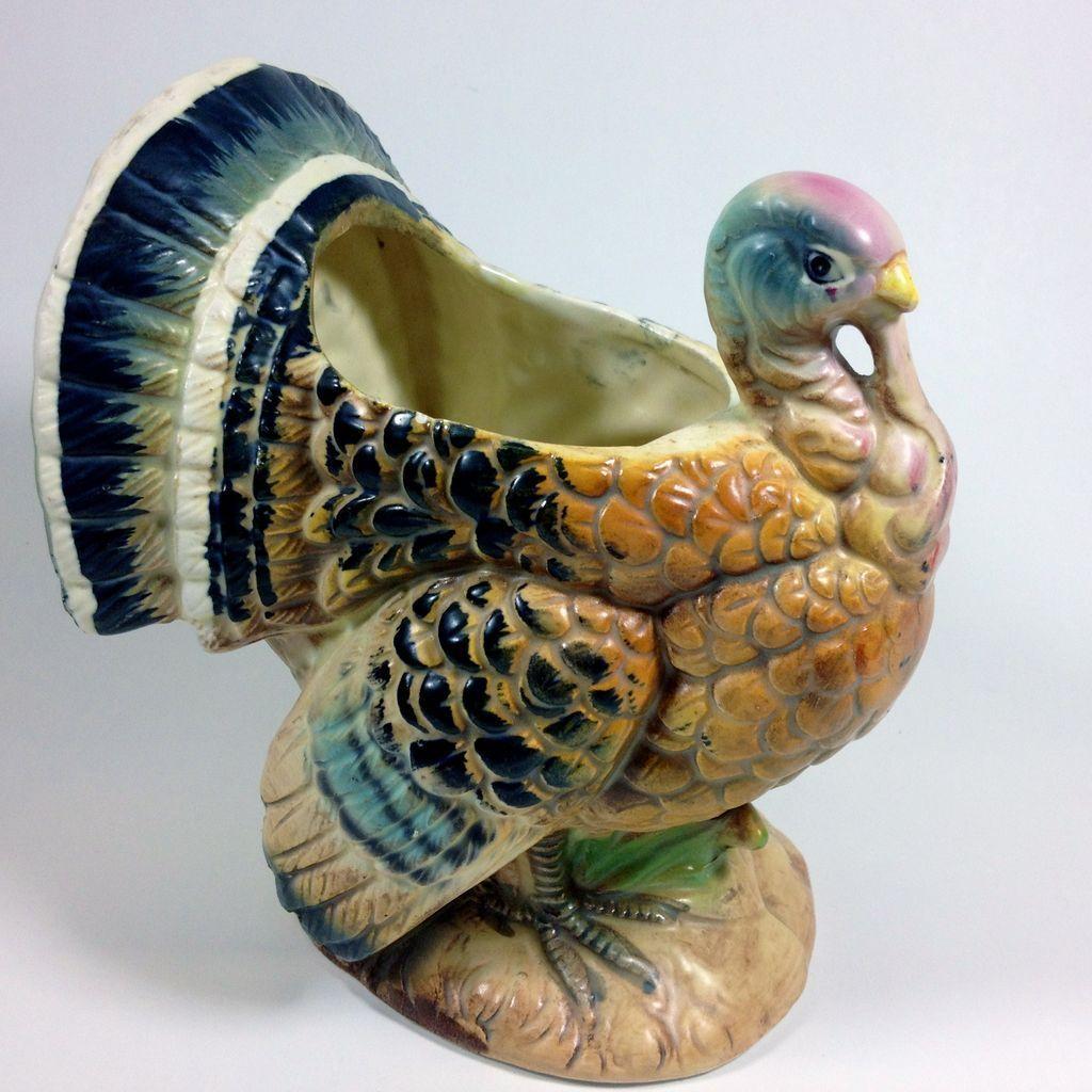 Harvest Birds Napco Decorative Figurine Set